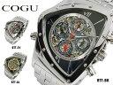 コグ COGU 流通限定モデル 自動巻 メンズ マルチカレンダー 腕時計 時計 BTT-BK【楽ギフ_包装】
