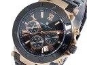 サルバトーレマーラ クオーツ メンズ クロノ 腕時計 時計 SM8005SS-PGBK
