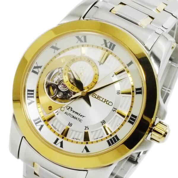 セイコー SEIKO プルミエ Premier 日本製 自動巻 メンズ 腕時計 SSA216J1【送料無料】【_包装】 【送料無料】【ラッピング無料】
