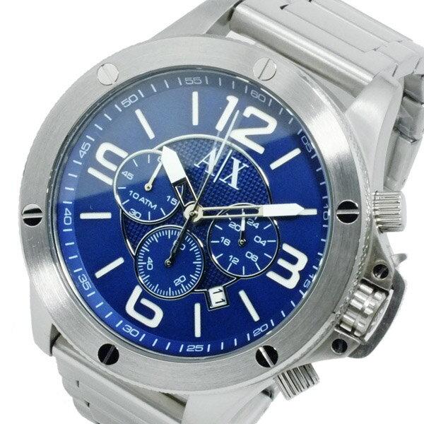 アルマーニ エクスチェンジ クオーツ メンズ クロノ 腕時計 時計 AX1512 ネイビー【_包装】 【ラッピング無料】