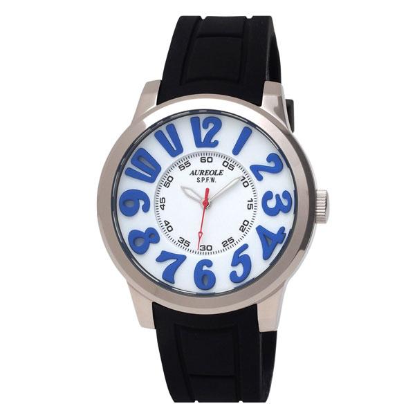 【AUREOLE】オレオール メンズ腕時計 SW-584M-4 アナログ表示 10気圧防水 /10点入り(き) 【AUREOLE】優れた機能性と洗練されたデザイン【品質があります。】