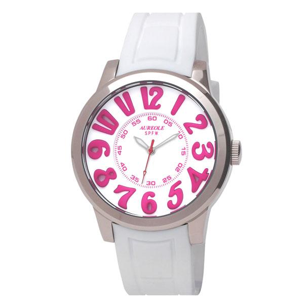 【AUREOLE】オレオール メンズ腕時計 SW-584M-5 アナログ表示 10気圧防水 /1点入り(き) 【AUREOLE】優れた機能性と洗練されたデザイン