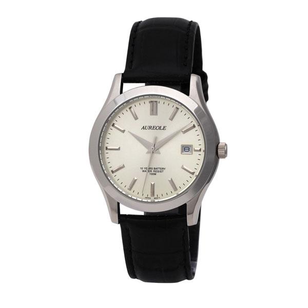 【AUREOLE】オレオール メンズ腕時計 SW-409M-7 アナログ表示 曜日付 10気圧防水 /1点入り(き) 【AUREOLE】優れた機能性と洗練されたデザイン