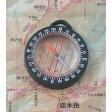 【MIZAR-TEC】ミザールテック オイル式地図用ポケットコンパス ルーペ付 ブラック 日本製 GS-33 /50点入り(代引き不可)