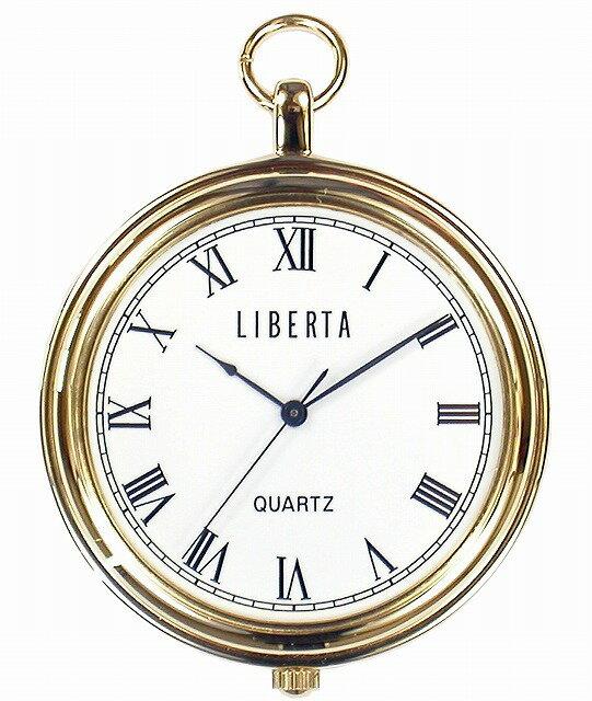 【LIBERTA】リベルタ ポケットウォッチ LI-042AR 日常生活用防水(日本製) /1点入り(代引き不可)