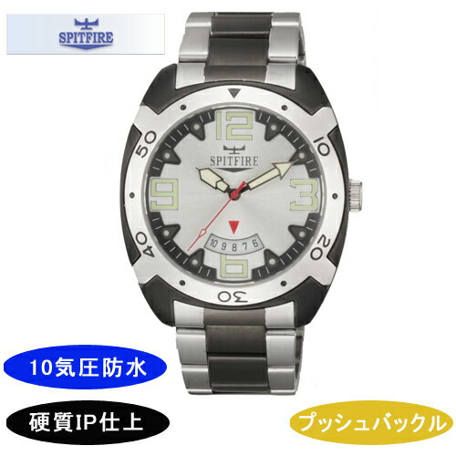 【SPITFIRE】スピットファイア メンズ腕時計 SF-911M-3 アナログ表示 10気圧防水 /10点入り(き) 【SPITFIRE】