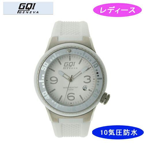 【GQI GENEVA】 ジェネバ レディース腕時計 GQ-112-3 アナログ表示 10気圧防水 /1点入り(き) 【GQI GENEVA】スタイリッシュなデザイン