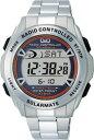 手錶 - 【CITIZEN】シチズン Q&Q ソーラー電源デジタル電波 メンズ腕時計MHS7-200 /10点入り(代引き不可)