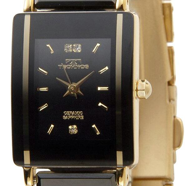 TECHNOS テクノス TAL742 セラミック クォーツ レディース腕時計 全3色 TECHNOS テクノス TAL742 セラミック クォーツ