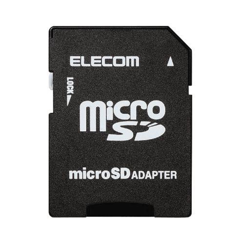 メモリカード変換アダプタ microSD>SD エレコム MF-ADSD002(代引き不可)
