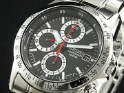 セイコー SEIKO 腕時計 時計 クロノグラフ メンズ SND371【楽ギフ_包装】
