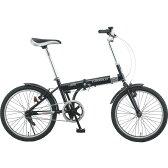 シボレー 20型折りたたみ自転車 ジェットブラック 73123【送料無料】(代引き不可)【S1】