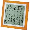 カレンダー電波時計 TSB-363 アデッソ