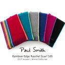ポールスミス Paul Smith マフラー Rainbow Edge Raschel Scarf S36 2017年秋冬 ストール ラッピング【送料無料】