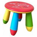 クレヨンチェア 子供 キッズ 椅子 カラフル かわいい 彩り 鮮やか(代引不可)