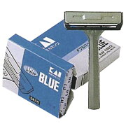 貝印カミソリ 貝印カミソリ(T型) 規格:青 入数:5本 TB-5H1
