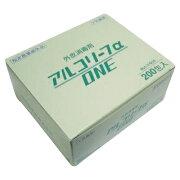 明星産商 アルコリーフα ONE サイズ:4×4 入数:1枚×200包【送料無料】