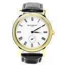 時計 メンズ ブランド 腕時計 pierretalamon (ピエールタラモン) 腕時計 メンズ ウォッチ スモールセコンド ローマインデックス ブラックxゴールド PT-5100H-2