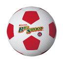 ミカサ(MIKASA) サッカーボール 4号球ゴム ホワイト×レッド F4 【カラー】ホワイト×レッド