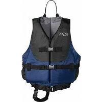 AQA(アクア) ライフジャケット KA9020 【カラー】ブラック×ネイビー 【サイズ】Mの画像
