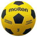 モルテン(Molten) サッカーボール3号球 亀甲ゴムサッカーボール 黄×黒 F3Y