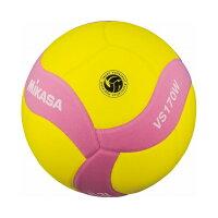 ミカサ(MIKASA) MIKASA ミカサ スマイルバレーボール5号球 FIVB公認スマイルバレー5号 イエロー×ピンク VS170WYPの画像
