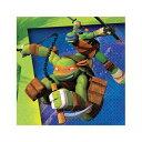 ミュータント・タートルズ 16pc ペーパーナプキン TMNT TURTLES 紙ナプキン 【DesignWare】