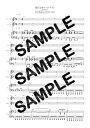 【ダウンロード楽譜】 陽だまりロードナイト/Roselia(ピアノ弾き語り譜 )