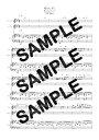 【ダウンロード楽譜】 時のしずく/ビリー・バンバン(ピアノ弾き語り譜 初級1)