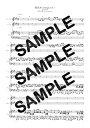 【ダウンロード楽譜】 桜並木〈strings ver.〉/AJISAI(ピアノ弾き語り譜 中級2)
