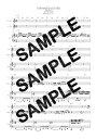 【ダウンロード楽譜】 UNPOSTED LETTER/SMAP(ピアノ弾き語り譜 初級1)