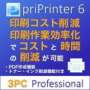 priPrinter 6 Professional 3PC ダウンロード版【印刷コスト削減 / インクセーバー・PDF作成機能付 / オールインワン多機能プリンタドライバ】 / 販売元:株式会社LODESTAR JAPAN