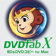 DVDFab X BD&DVD コピー for Mac ダウンロード版 / 販売元:株式会社 ジャングル