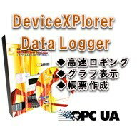【English Ver.】DeviceXPlorer Data Logger / 販売元:TAKEBISHI Corporation