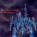 Ray Forming Acrobat Blue