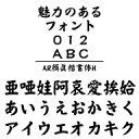 AR顔眞楷書体H (Windows版 TrueTypeフォントJIS2004字形対応版) / 販売元:株式会社シーアンドジイ