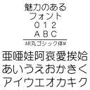 AR丸ゴシック体M MAC版TrueTypeフォント /販売元:株式会社シーアンドジイ