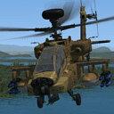 Area 51 Simulations AH-64D Apache Longbow (アパッチ・ロングボウ) / 販売元:株式会社オーバーランド