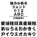 AR髭勘亭H (Windows版 TrueTypeフォントJIS2004字形対応版) / 販売元:株式会社シーアンドジイ