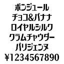 カナフェイス ボンジュール Windows版TrueTypeフォント