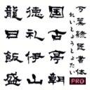 【Design筆文字Font】 万葉シリーズPRO 隷匠書体 (Win版TrueTypeフォント) / 販売元:光栄商事有限会社