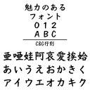 C&G行刻 (Windows版 TrueTypeフォントJIS2004字形対応版)