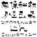 數位內容 - 【Design筆文字Font】 文次郎書体-甚- 【Mac版OpenTypeフォント】 /販売元:光栄商事有限会社