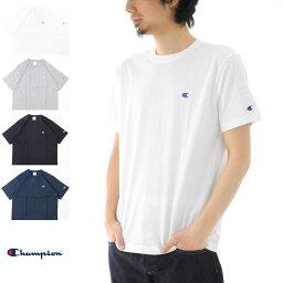 【27%OFFセール】チャンピオン Champion Tシャツ ベーシック Cロゴ C3-H359 半袖Tシャツ【ブラック グレー ネイビー メンズ レディース 定番 無地 ワンポイント】【SP01】[M便 1/1]