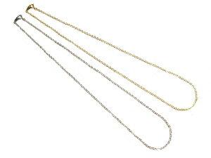 チェーン シルバー ゴールド ネックレス アクセサリー