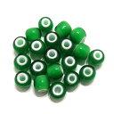 【緑/グリーン7mm】 (7〜8mm) ホワイトハーツ/イン...