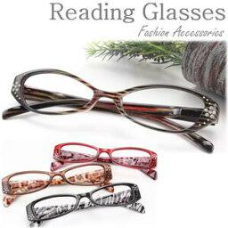 クリスタルガラス おしゃれ 老眼鏡 シニアグラス 女性用 掛けやすく滑りにくい お顔にフィット 眼鏡 メガネ めがね 斬新なデザインでおしゃれ プラスチック メガネ 眼鏡 リーディンググラス Reading Glasses 敬老の日 母の日 ギフト 贈り物 プレゼント 女性人気 老花眼鏡