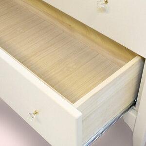 オリジナル白家具シリーズcelestaチェレスタ120ローチェスト奥行き43.5cm/38.5cm/33cm【ローズエレガントカントリーフレンチホワイト日本製】
