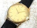 セイコー SEIKO ドルチェ DOLCE 18KT 腕時計 クォーツ 5E61-0A10 超美品 メンズ 【中古】【ベクトル 古着】 161123 古着 買取&販売 ベクトルイズム