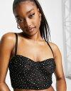 ■ブランド ASOS DESIGN (エイソス)■商品名 ASOS DESIGN glitter ball mesh underwire corset bralette in black■商品は海外よりお取り寄せの商品となりますので、お届けまで10日-14日前後お時間頂いております。 ■ブランド・商品・デザインによって大きな差異がある場合があります。 ■あくまで平均的なサイズ表ですので「目安」として参考にしてください。 ■お届けの商品は1枚目のお写真となります。色展開がある場合、2枚目以降は参考画像となる場合がございます。 ■只今、すべて商品につきまして、期間限定で送料無料となります。